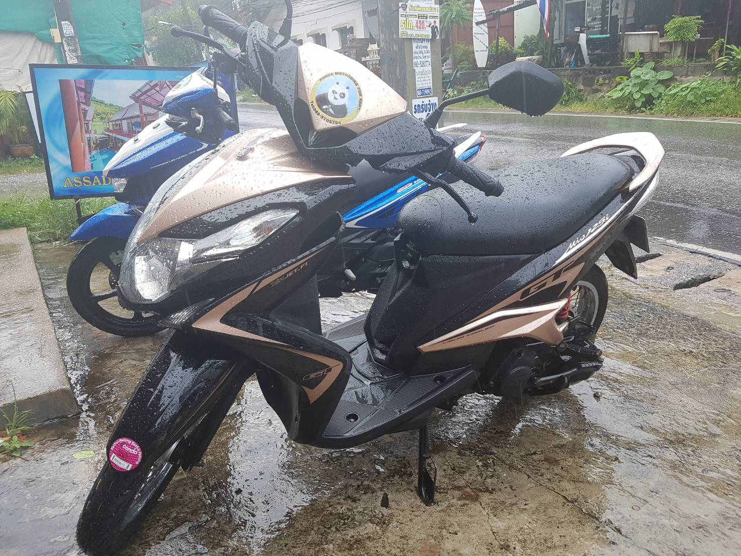 YAMAHA MIO  125 cc.