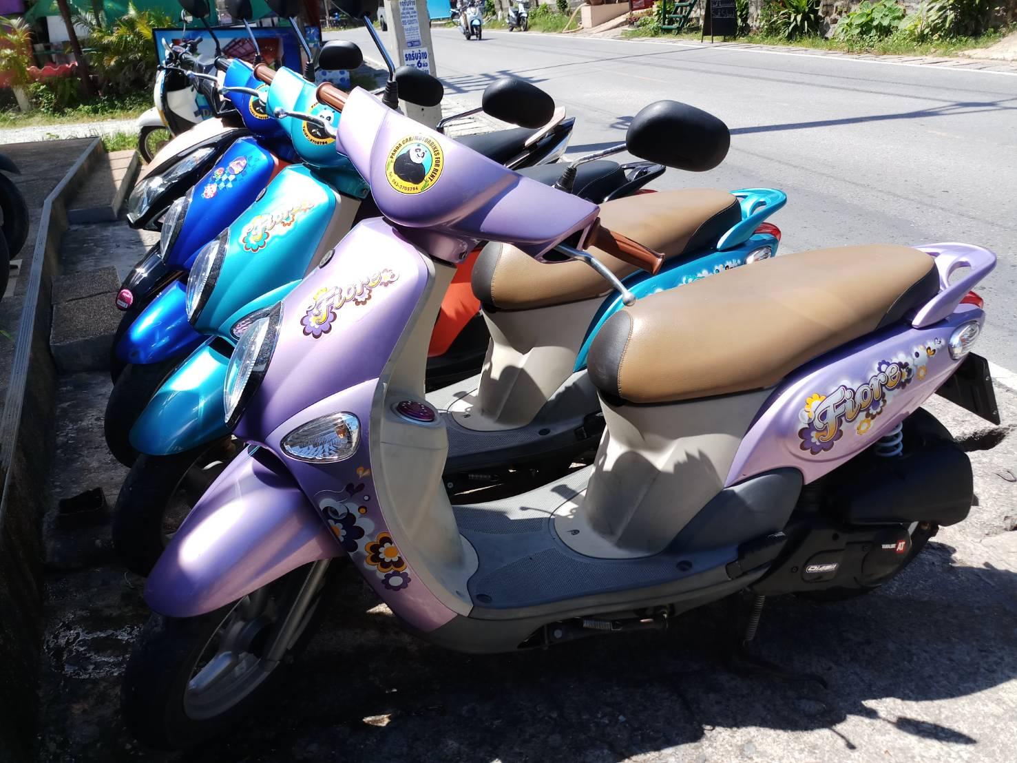 YAMAHA FIORE 110 cc.