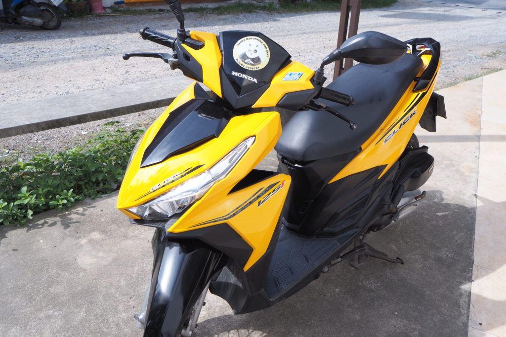 HONDA CLICK 125 cc.